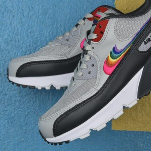 Nike Air Max 90 BETRUE - Szare / Białe - CJ5480-300 Light Grey /Black  Colorful
