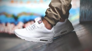 Nike Air Max 90 Hyperfuse USA Flag -  Białe / Off White
