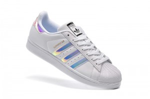 Adidas Superstar - Białe / Holo / White Hologram