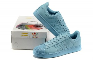 Adidas Superstar Supercolor Pharrell Williams - Turkus , wys PL
